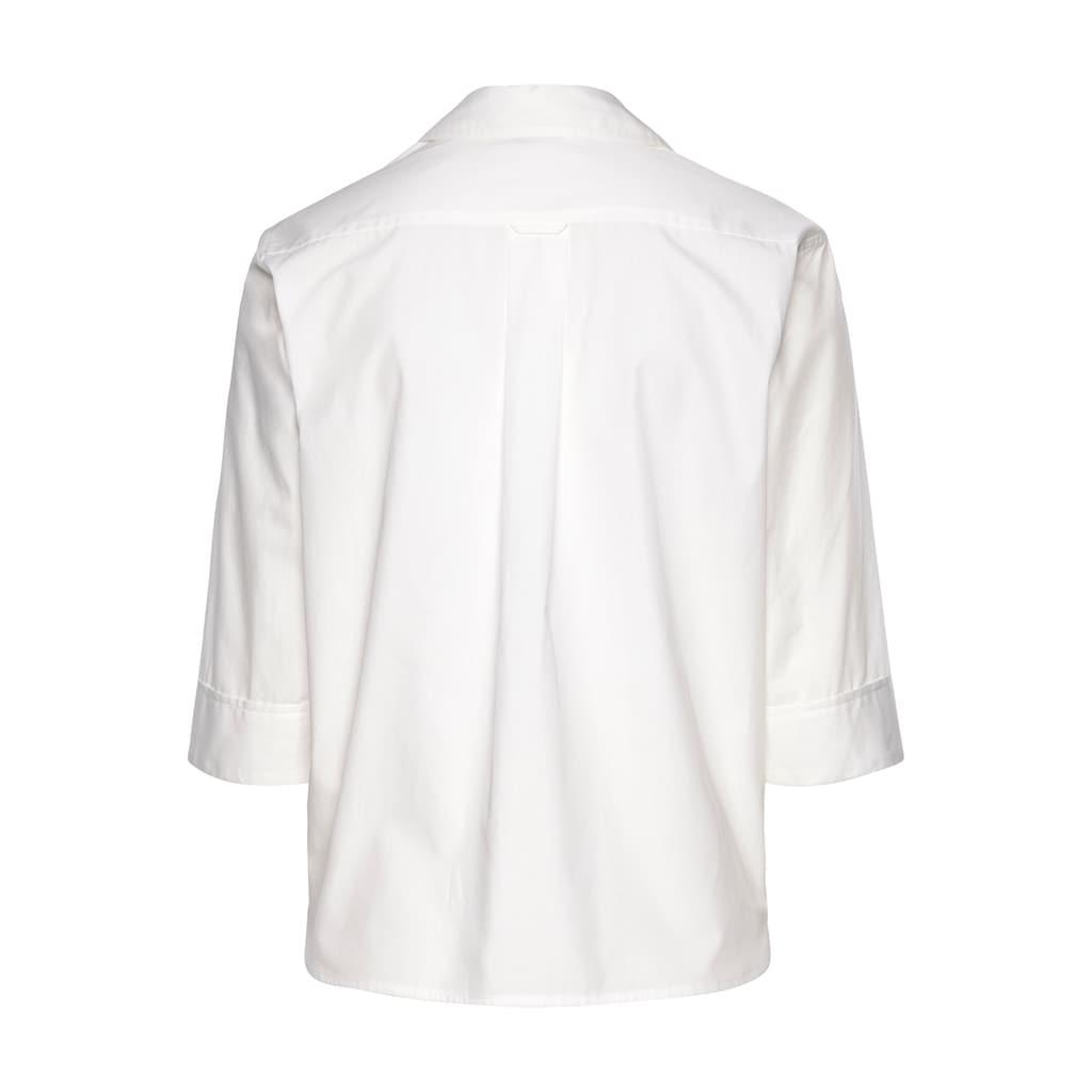 Scotch & Soda Hemdbluse, in gerader Form und mit halbem Arm