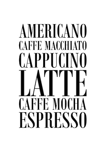 queence Wanddekoobjekt »Kaffee« kaufen