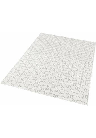 freundin Home Collection Teppich »Novalie«, rechteckig, 4 mm Höhe, Flachgewebe,... kaufen