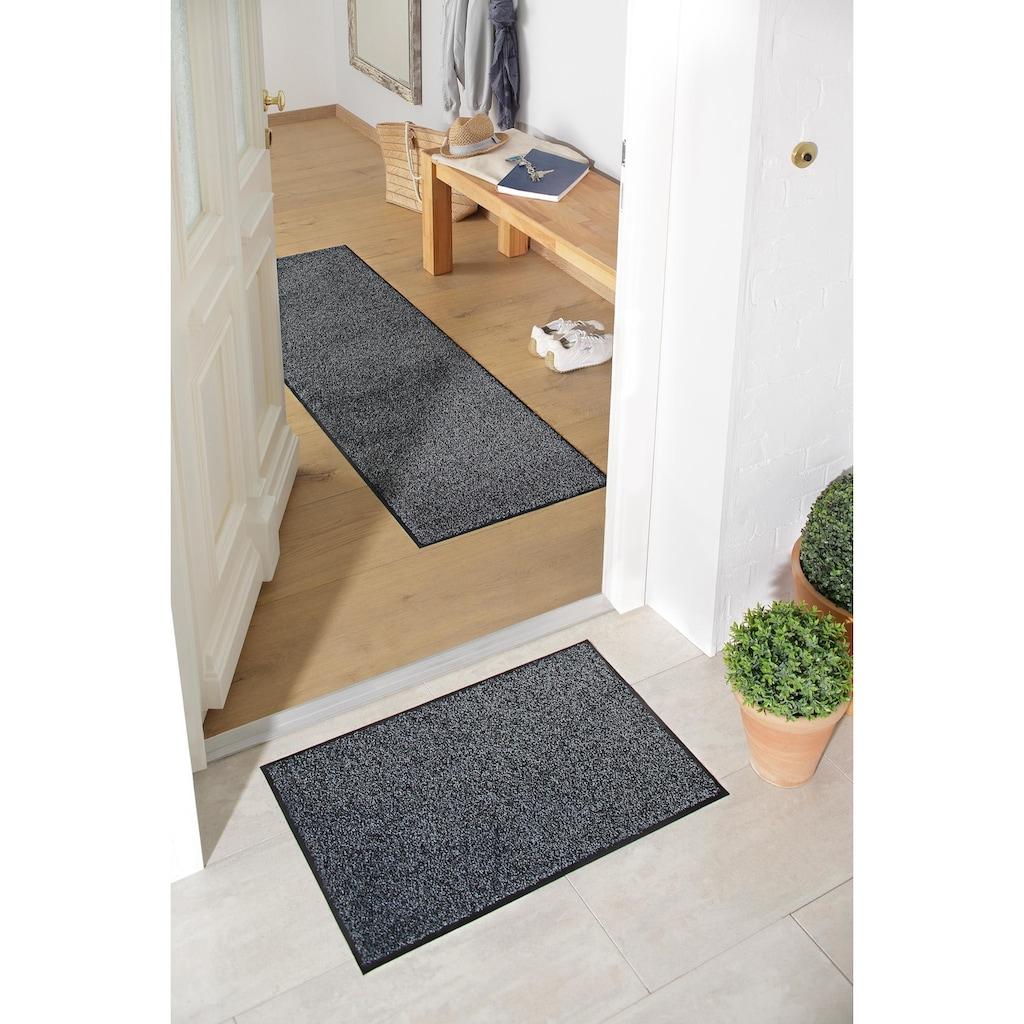 my home Fussmatte »Ember«, rechteckig, 9 mm Höhe, Schmutzfangmatte, In- und Outdoor geeignet