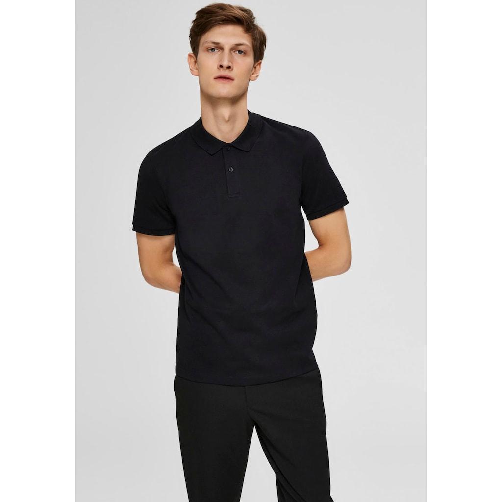 SELECTED HOMME Poloshirt »PARIS POLO«