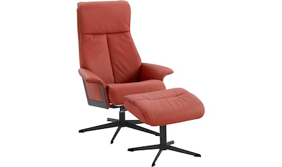 Relaxsessel »Westby«, von IMG, incl. Hocker, in NaturLEDER und Luxus-Microfaser kaufen