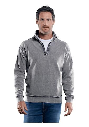 Engbers Sweatshirt mit modischer Waffelstruktur kaufen
