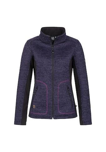 DEPROC Active Strickfleecejacke »WILDMORE WOMEN«, in edler Melange-Optik kaufen