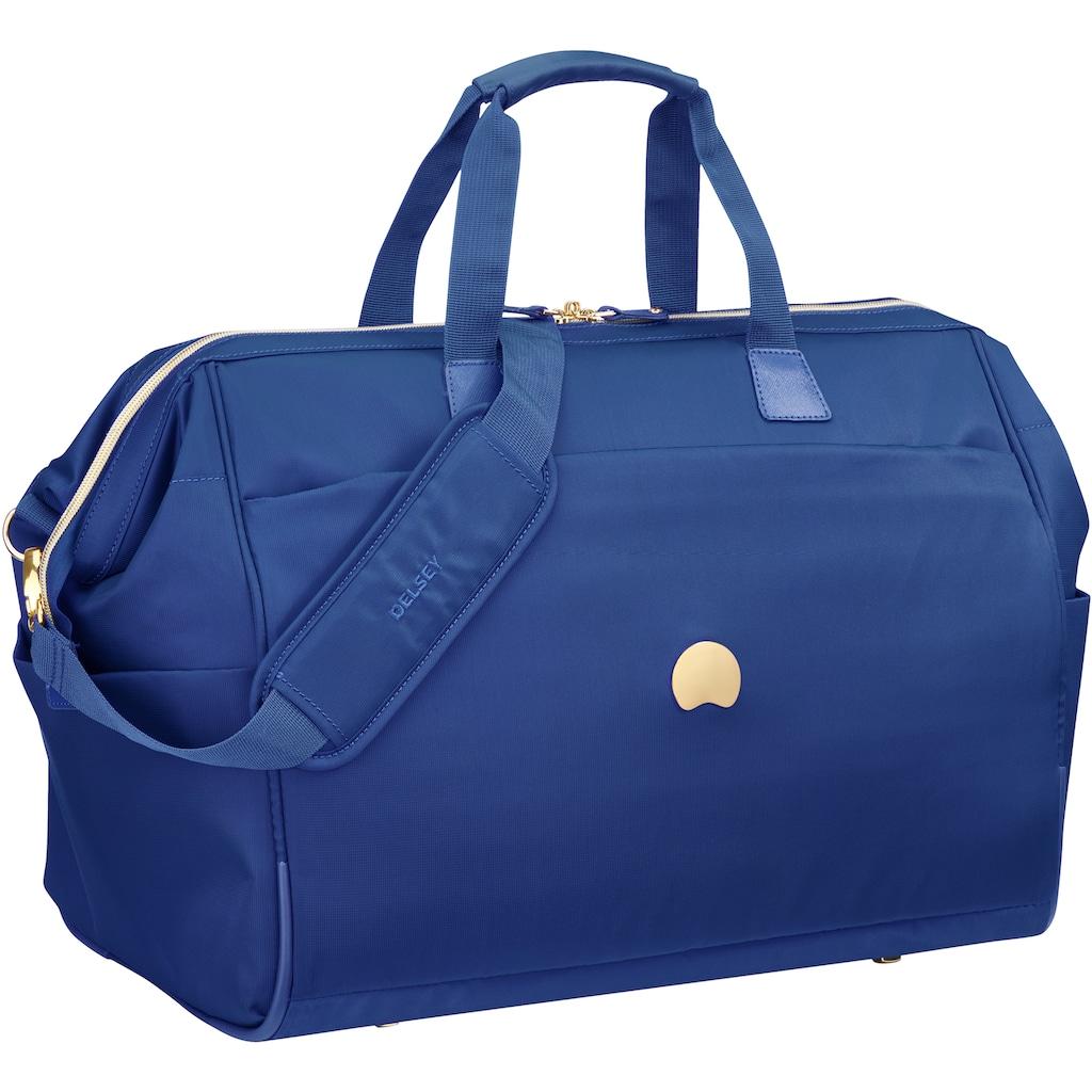 Delsey Reisetasche »Montrouge, blue«, mit TSA-Schloss