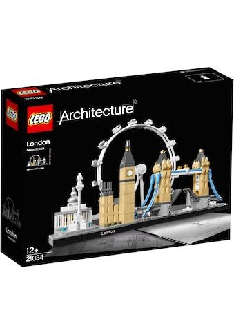 LEGO® Konstruktionsspielsteine »London (21034), LEGO® Architecture«, (468 St.), Made... kaufen