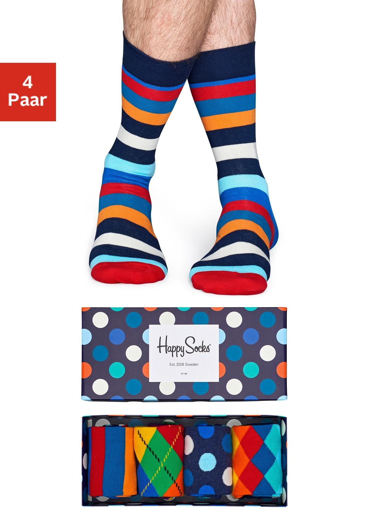 Image of Happy Socks Socken (Box, 4 Paar)