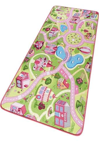 HANSE Home Kinderteppich »Sweettown«, rechteckig, 7 mm Höhe, Kinder... kaufen