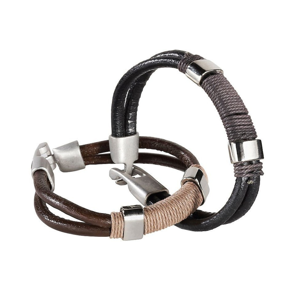 J.Jayz Armband Set »coole Optik«, (Set, 2 tlg.)