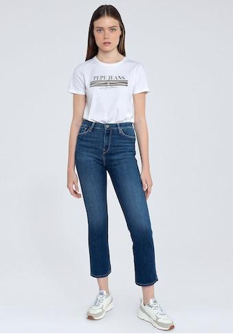 Pepe Jeans Slim-fit-Jeans »DION7/8«, mit hohem Bund, Stretch-Anteil und in 7/8-Länge kaufen
