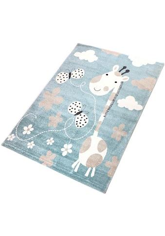 Kinderteppich, »Giraffe«, Living Line, rechteckig, Höhe 12 mm, maschinell gewebt kaufen