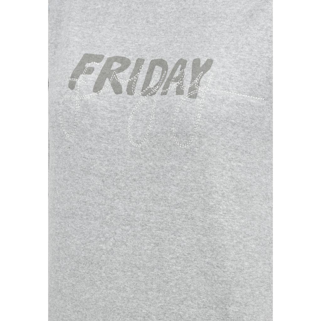 Blendshe Hoodie »Malle«, Kapuzenpullover mit Logoprint und Stickerei