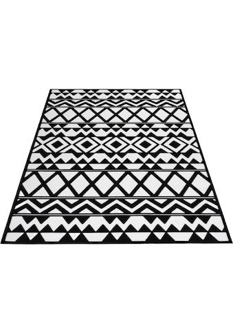Home affaire Teppich »Mila«, rechteckig, 10 mm Höhe, Wohnzimmer kaufen