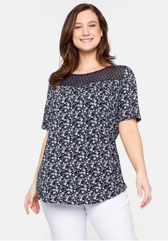 Sheego T-Shirt, mit Spitze kaufen