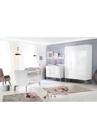roba® Babyzimmer-Komplettset »Retro 2«, (Set, 3 St.), Made in Europe; mit Kinderbett,... kaufen
