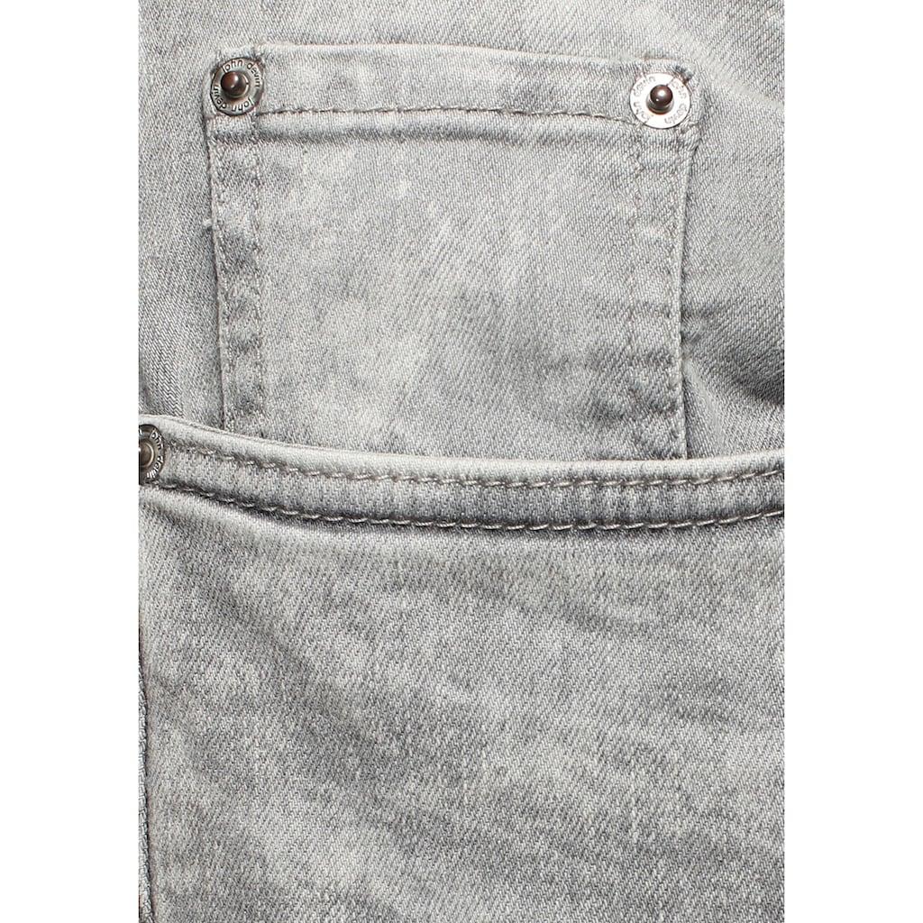 John Devin Straight-Jeans, mit geradem Bein