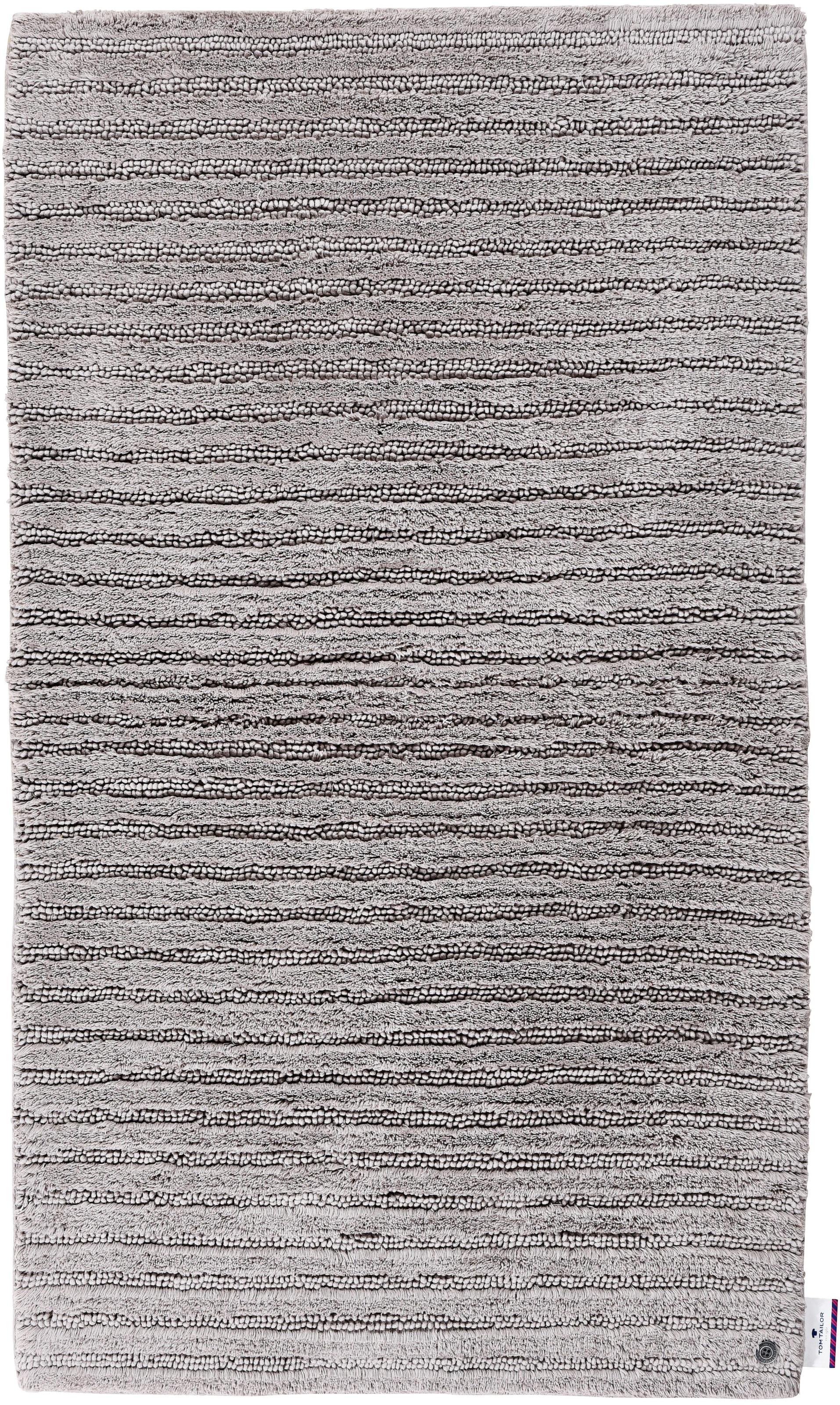 Image of Badematte »Cotton Stripes«, TOM TAILOR, Höhe 20 mm, fussbodenheizungsgeeignet