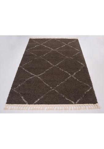 GALLERY M branded by Musterring Hochflor-Teppich »Donna«, rechteckig, 30 mm Höhe,... kaufen