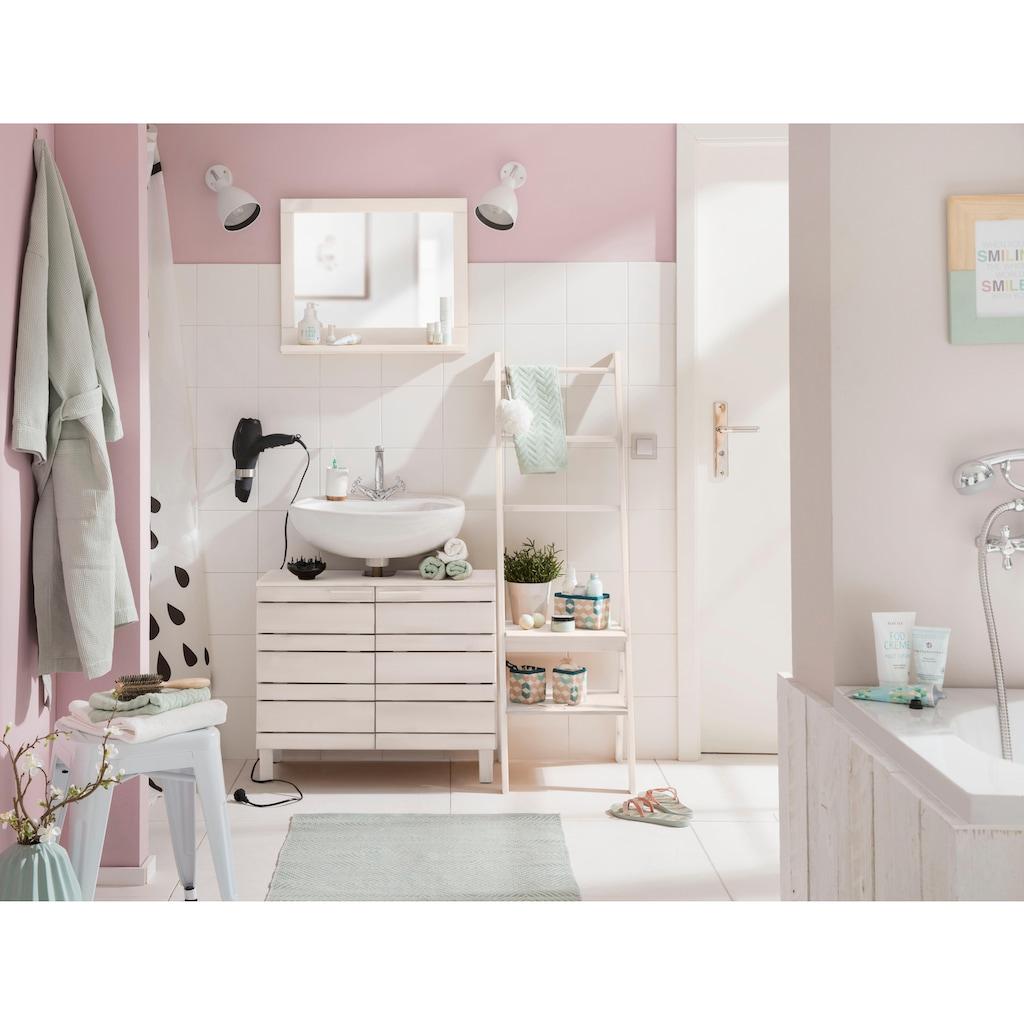 Home affaire Waschbeckenunterschrank »Jossy«, aus Massivholz, Breite 70 cm