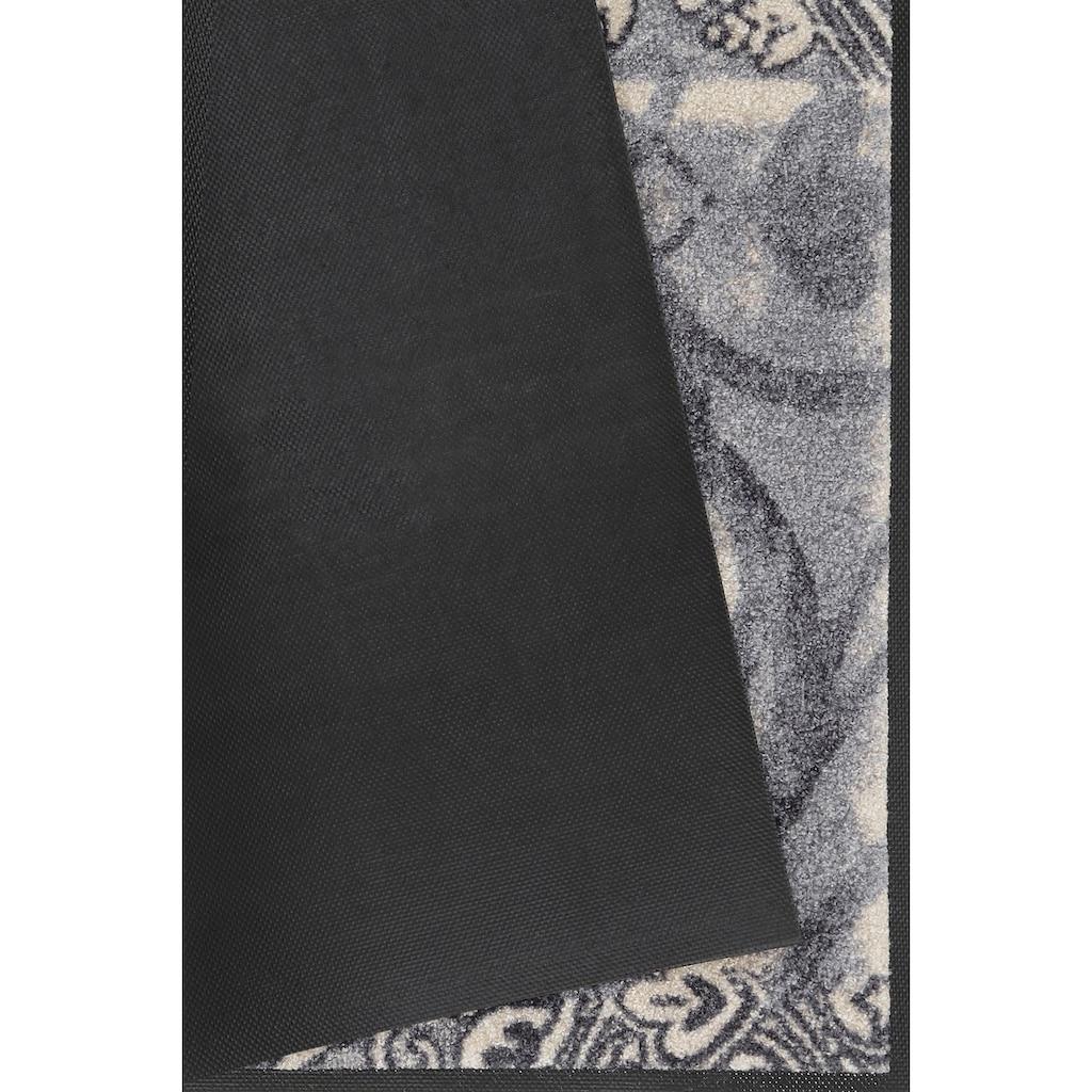 wash+dry by Kleen-Tex Fussmatte »Arabesque«, rechteckig, 9 mm Höhe, Schmutzfangmatte, In- und Outdoor geeignet, waschbar