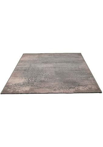 merinos Teppich »Gayla«, rechteckig, 12 mm Höhe, Vintage Design, Hoch-Tief-Effekt, Wohnzimmer kaufen