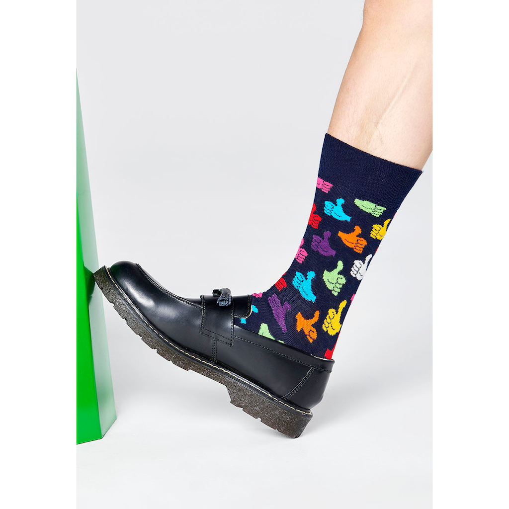 Happy Socks Socken »Thumbs Up«, mit knalligen Daumen Hoch Motiven