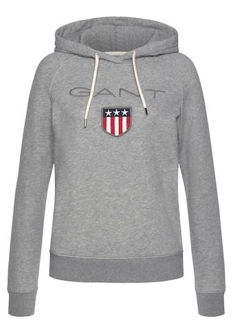Gant Sweatshirt, mit grosser Label-Applikation vorne kaufen