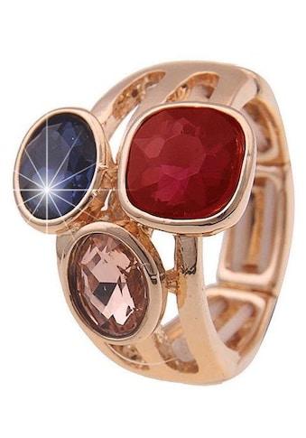 leslii Fingerring »Royal, 250118596«, mit Glassteinen kaufen