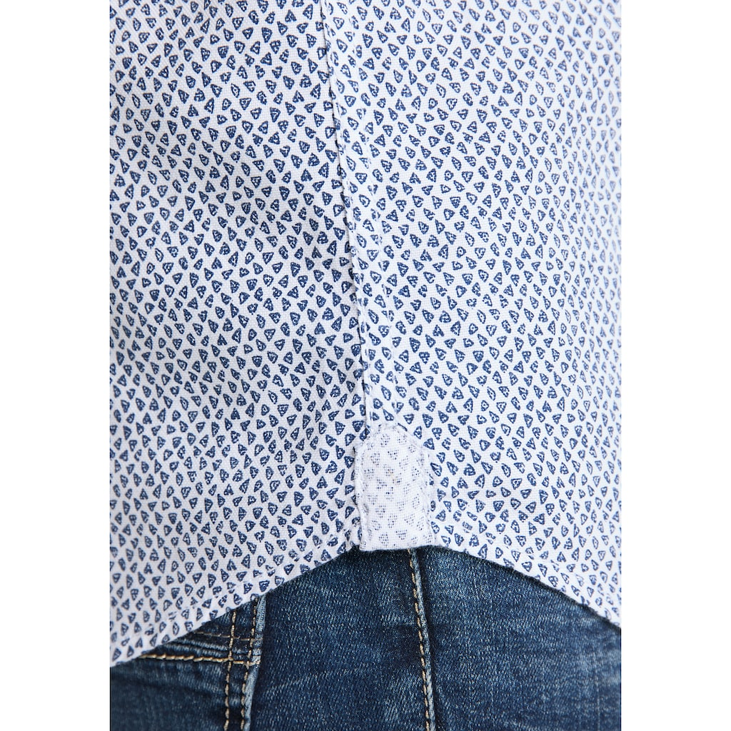 Pioneer Authentic Jeans Herrenhemd Print Regular Fit
