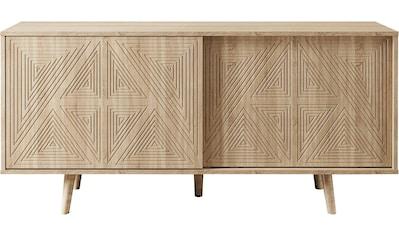 COUCH♥ Sideboard »Schwalm« mit 2 Schiebetüren, 155 cm breit kaufen