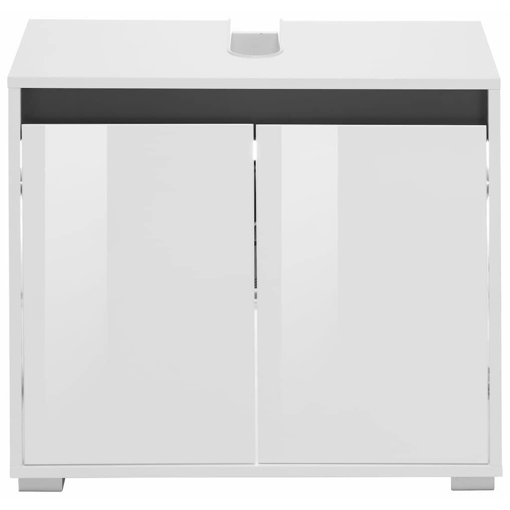 trendteam Waschbeckenunterschrank »Sol«, mit Wechselblende