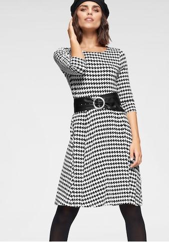 Tamaris Jerseykleid, mit Bindegürtel kaufen