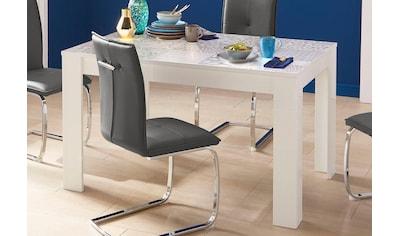 LC Esstisch »Miro«, Breite 180 cm mit oder ohne Ansteckplatten kaufen
