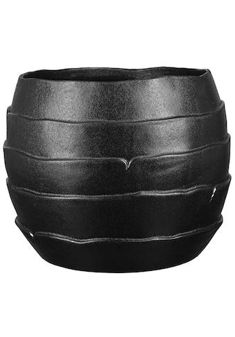 Fink Übertopf »Cocon, schwarz«, (1 St.), Blumenübertopf, Blumentopf, Höhe 23 cm, Ø 28... kaufen