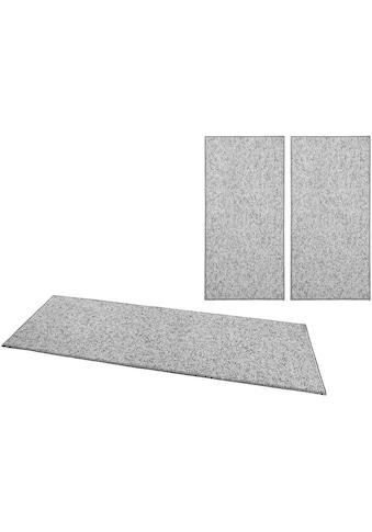 BT Carpet Bettumrandung »Wolly 2«, Woll-Optik, Hoch-Tief-Effekt kaufen