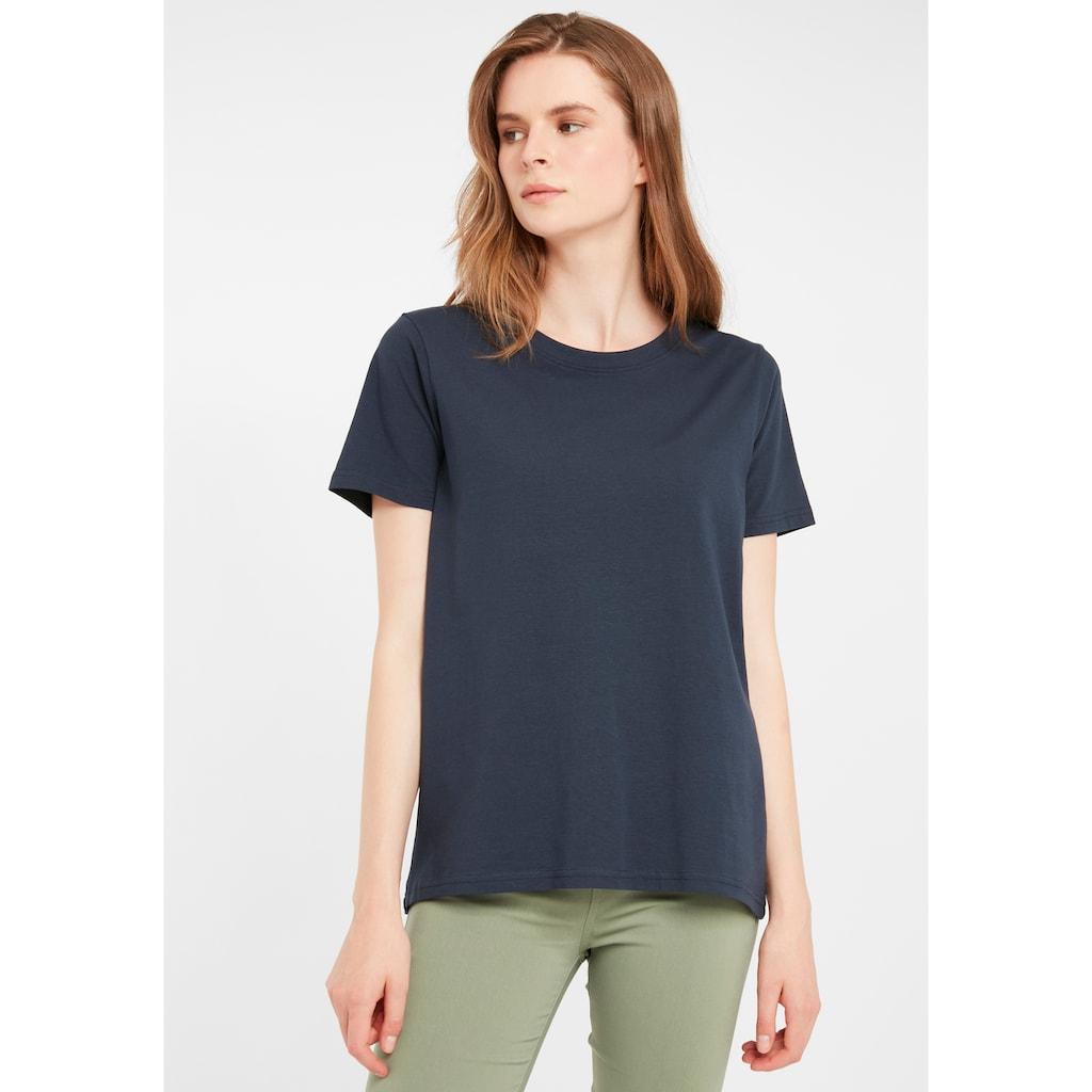 fransa T-Shirt »Zaganic 2«, T-Shirt in Basic-Optik