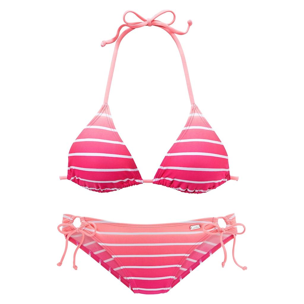 Venice Beach Triangel-Bikini, in Neonfarben