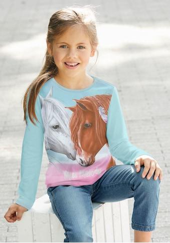 Miss Melody Langarmshirt, für Pferde-Fans kaufen