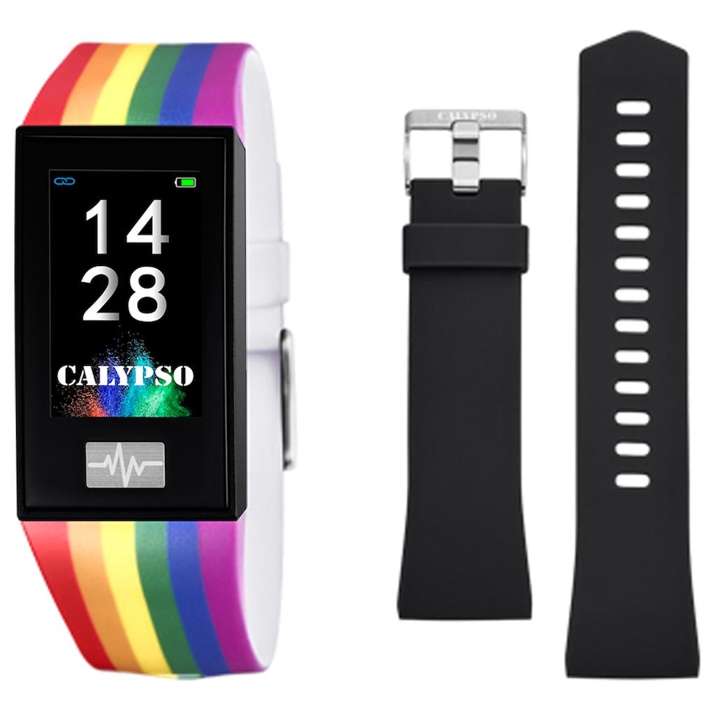 CALYPSO WATCHES Smartwatch »Smartime, K8500/7«, ( Mit Wechselband)