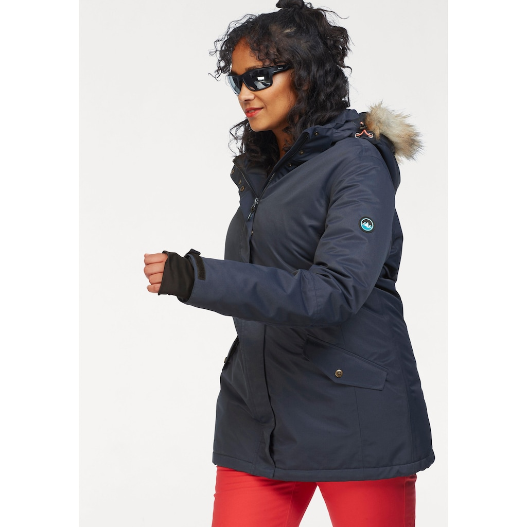 Polarino Skijacke, mit Schneefang und Windstopperbündchen