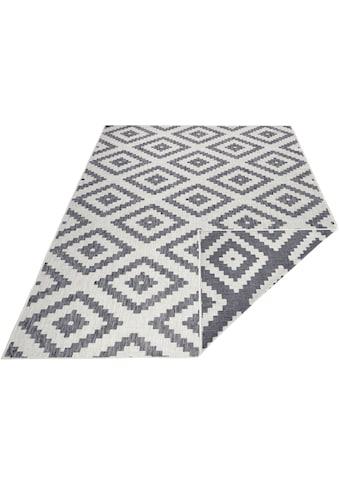 bougari Teppich »Malta«, rechteckig, 5 mm Höhe, Flachgewebe, In- und Outdoor geeignet,... kaufen