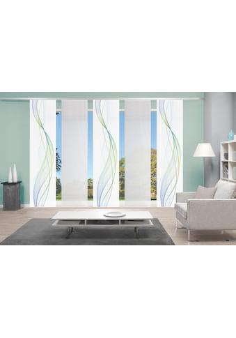 Vision S Schiebegardine »5ER SET HEIGHTS«, HxB: 260x60, Schiebevorhang 5er Set... kaufen