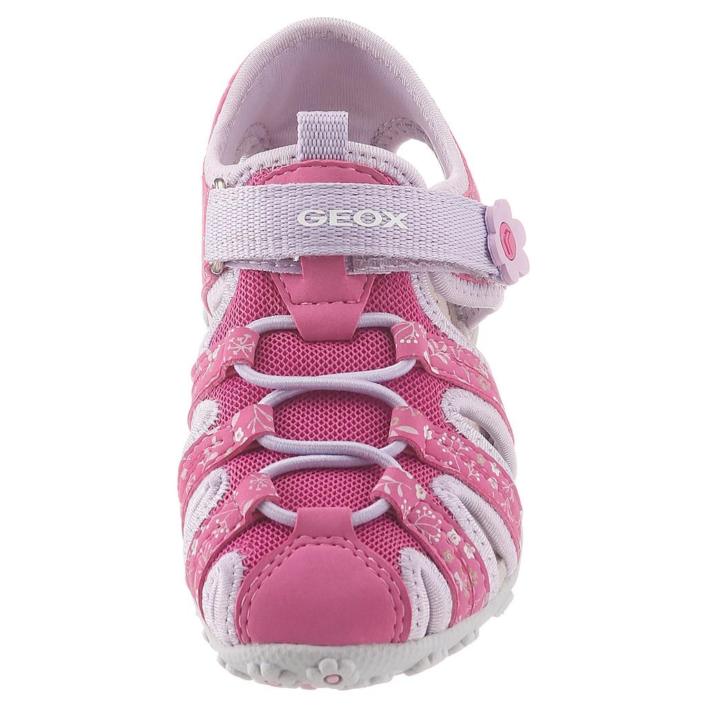 Geox Kids Sandale »Sandal Roxanne«, mit softer Lederinnensohle