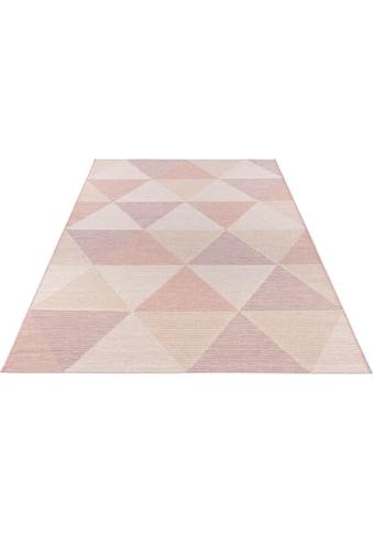 ELLE DECORATION Teppich »Sevres«, rechteckig, 4 mm Höhe, Flachgewebe, In- und Outdoor... kaufen