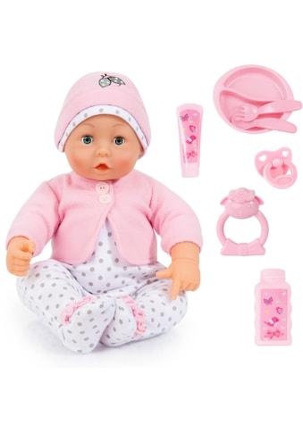"Bayer Babypuppe ""Baby Lisa rosa/weiss"" (Set, 8 - tlg.) kaufen"