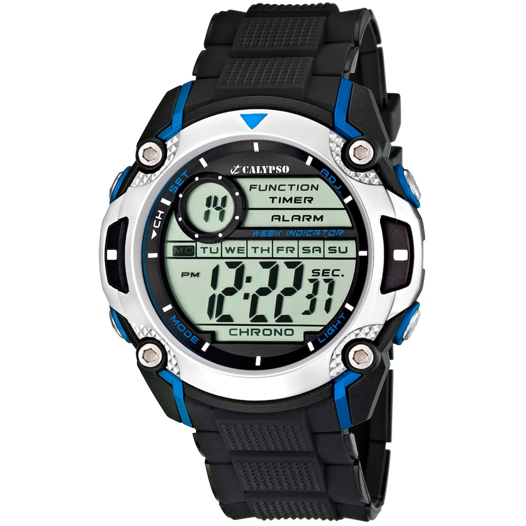 CALYPSO WATCHES Chronograph »Digital For Man, K5577/2«