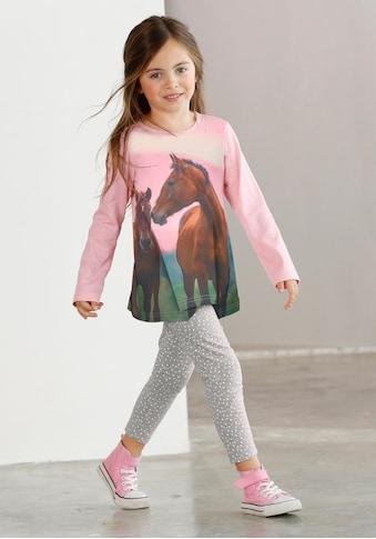 Arizona Shirt & Leggings, mit Pferde-Motiv kaufen