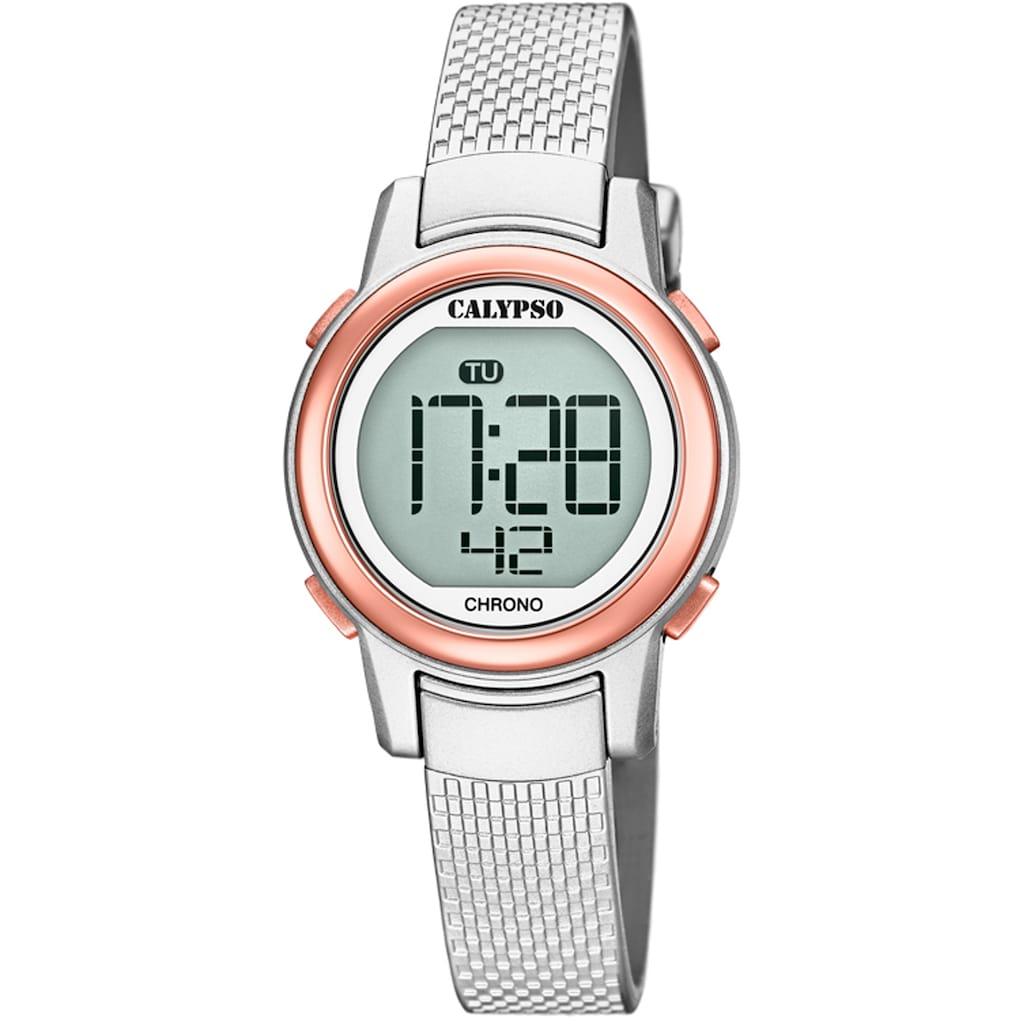 CALYPSO WATCHES Chronograph »Digital Crush, K5736/2«
