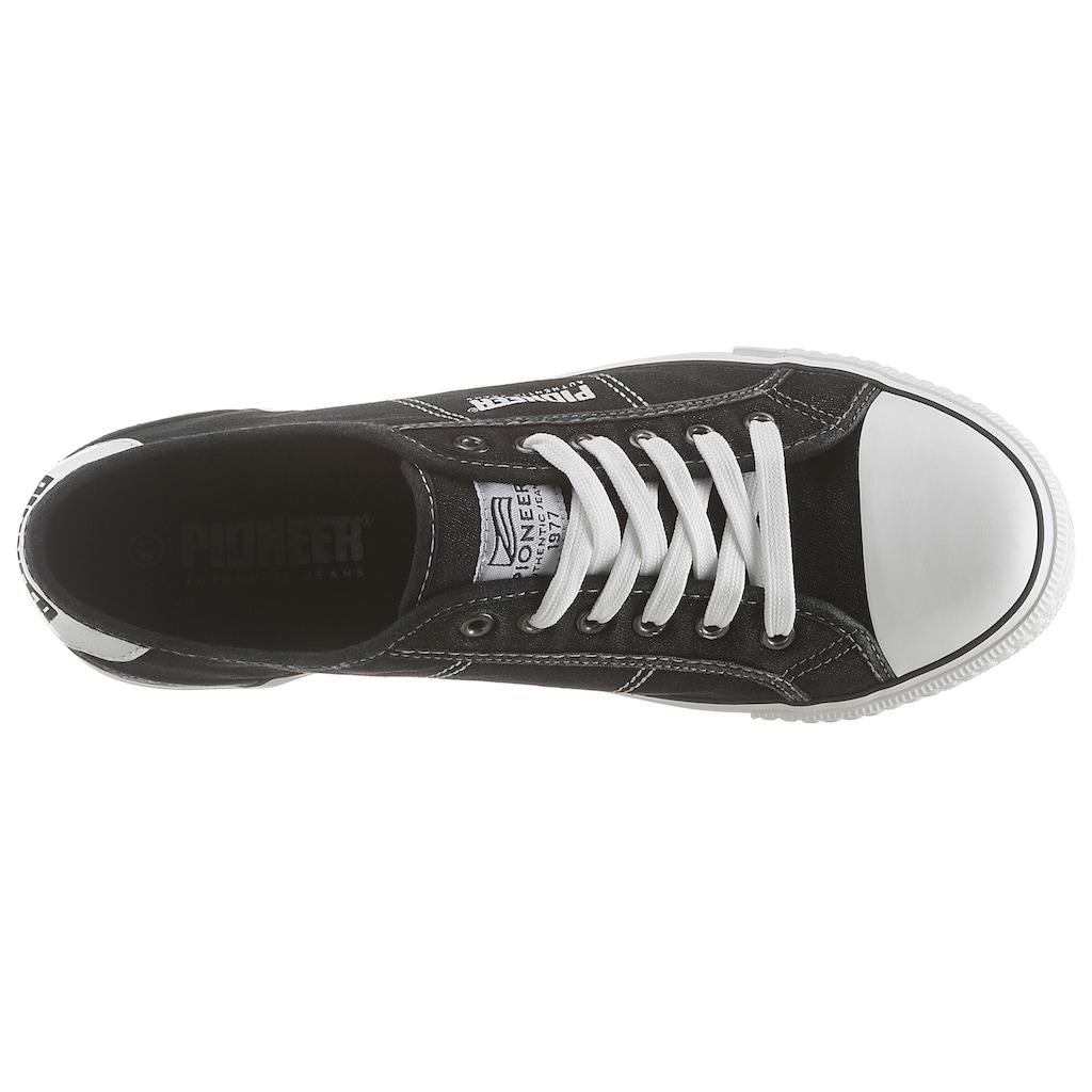 Pioneer Authentic Jeans Slip-On Sneaker, mit modischen Ziernähten