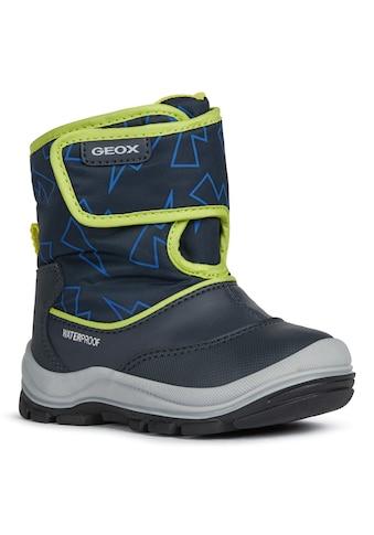 Geox Kids Winterstiefel »FLANFIL BOY«, mit TEX-Ausstattung kaufen